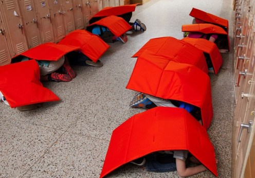 An Oklahoman company designs bulletproof blankets for kids - is it a good solution to the growing school attacks