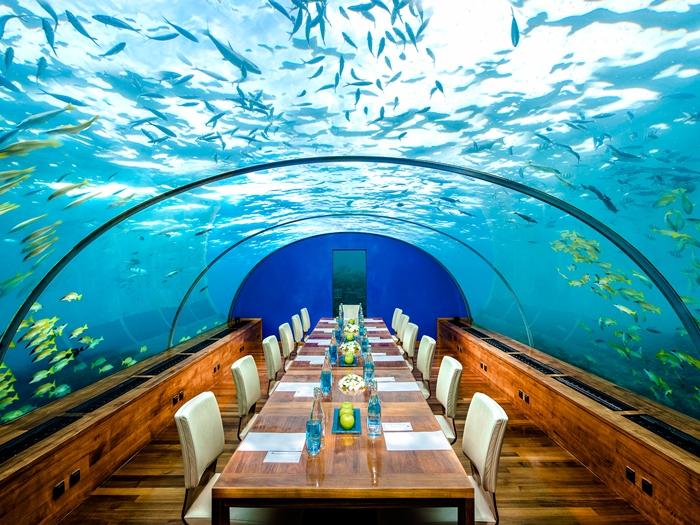 Conrad Maldives, Rangali Islands