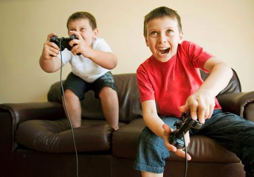 Believe it or not!! According to a new study, children may benefit from playing video games!!