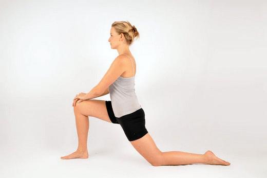 Upright Back Stretch