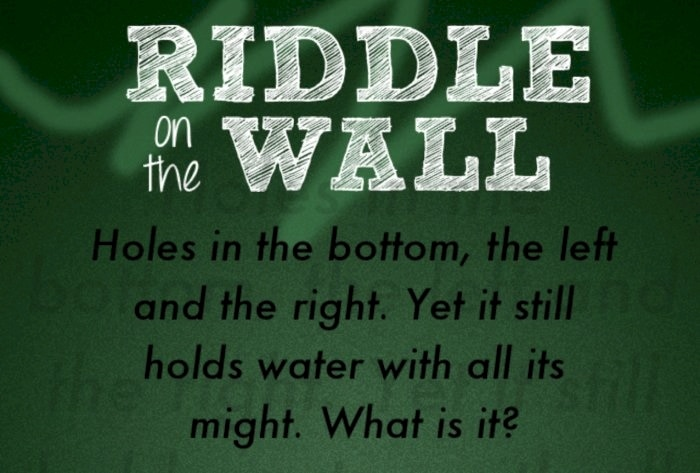 Amazing Riddle Sprawled on the Wall