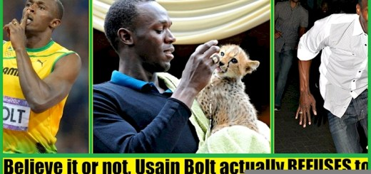 Check out these freaky facts about the greatest sprinter Usain Bolt
