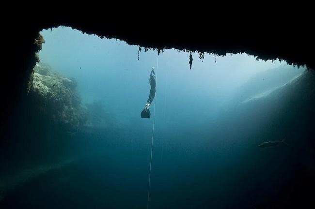 Deans Sink Hole Bahamas