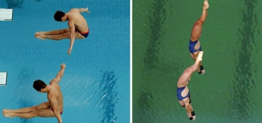 Why has the Olympic Diving Pool in Rio turned green? Officials have no answer