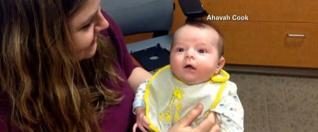baby Diagnosed With Hearing Impairment