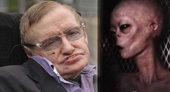 Alien life is real, says Prof. Stephen Hawkings and warn humans, not to make any contact!