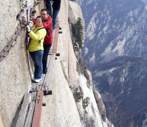 Climb Mount Hua Shan, China