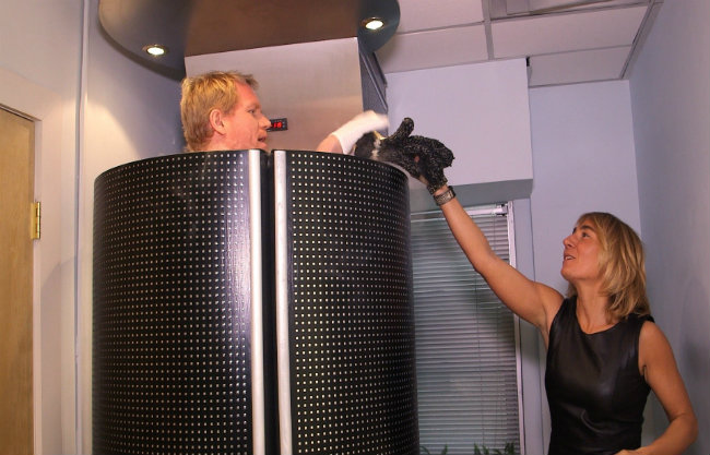 Cryotherapy works by bringing down the temperature