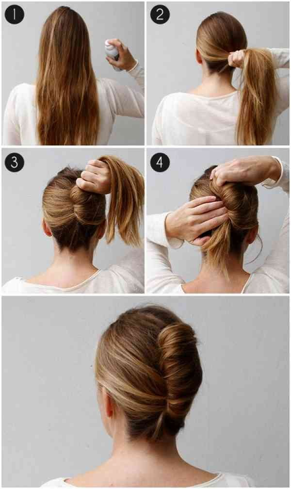 French Twisted Bun