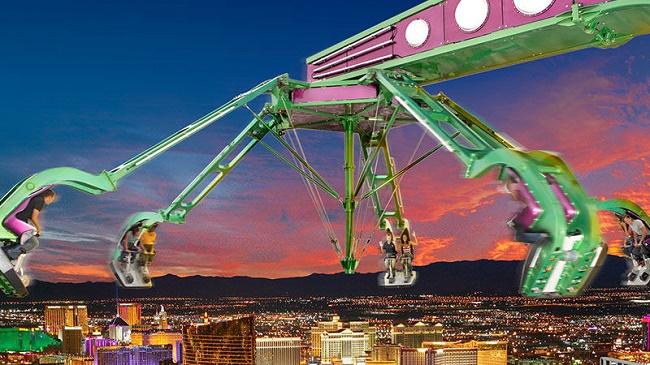 Insanity Stratosphere Ride, Las Vegas