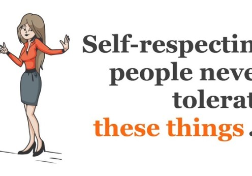 Toxic Behaviours self respecting people don't tolerate