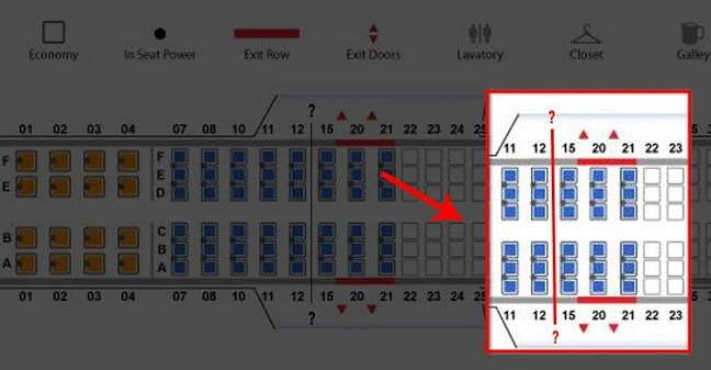 Here is the reason why there is no 13th row in some airplanes