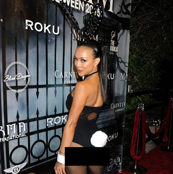 Karrueche Tran as Playboy Bunny