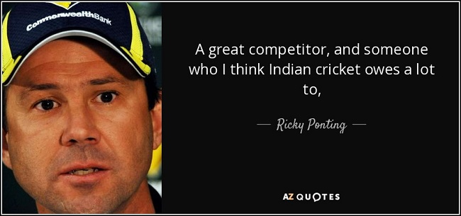 Ricky Ponting quotes