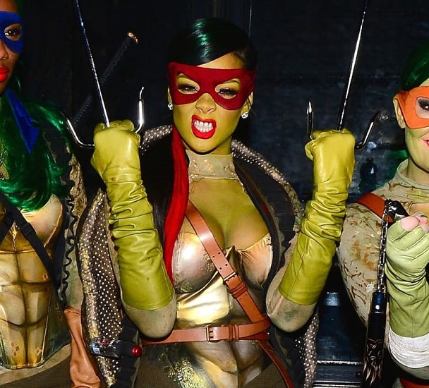 Rihanna as Teenage Mutant Ninja Turtle