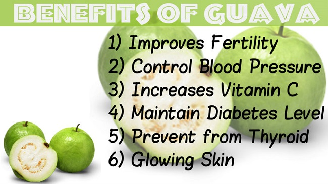 Guava leaves can stimulate hair production