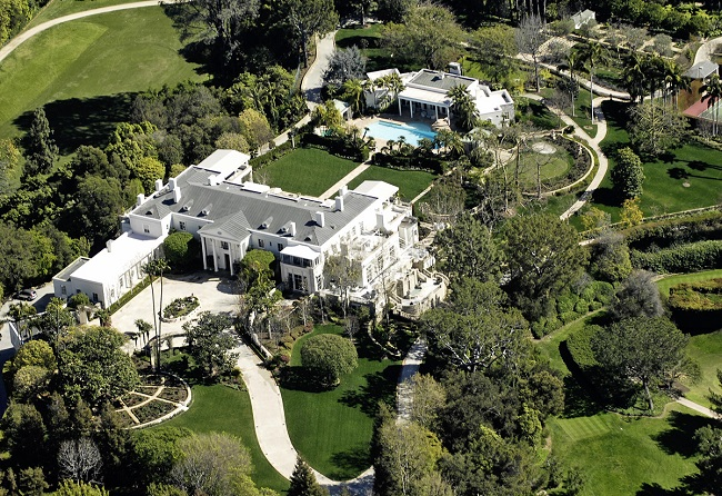 Lady Gaga mansion