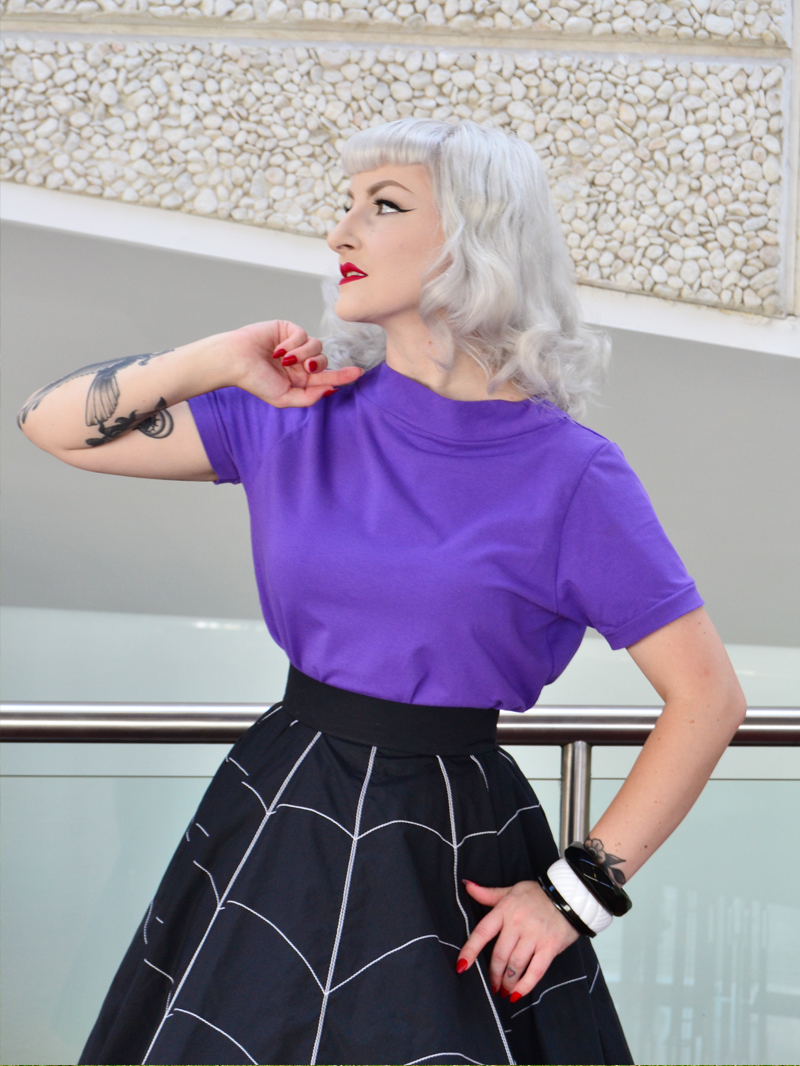 Luci Luxe in The Bess Tee and Black Widow Skirt | Devel Women