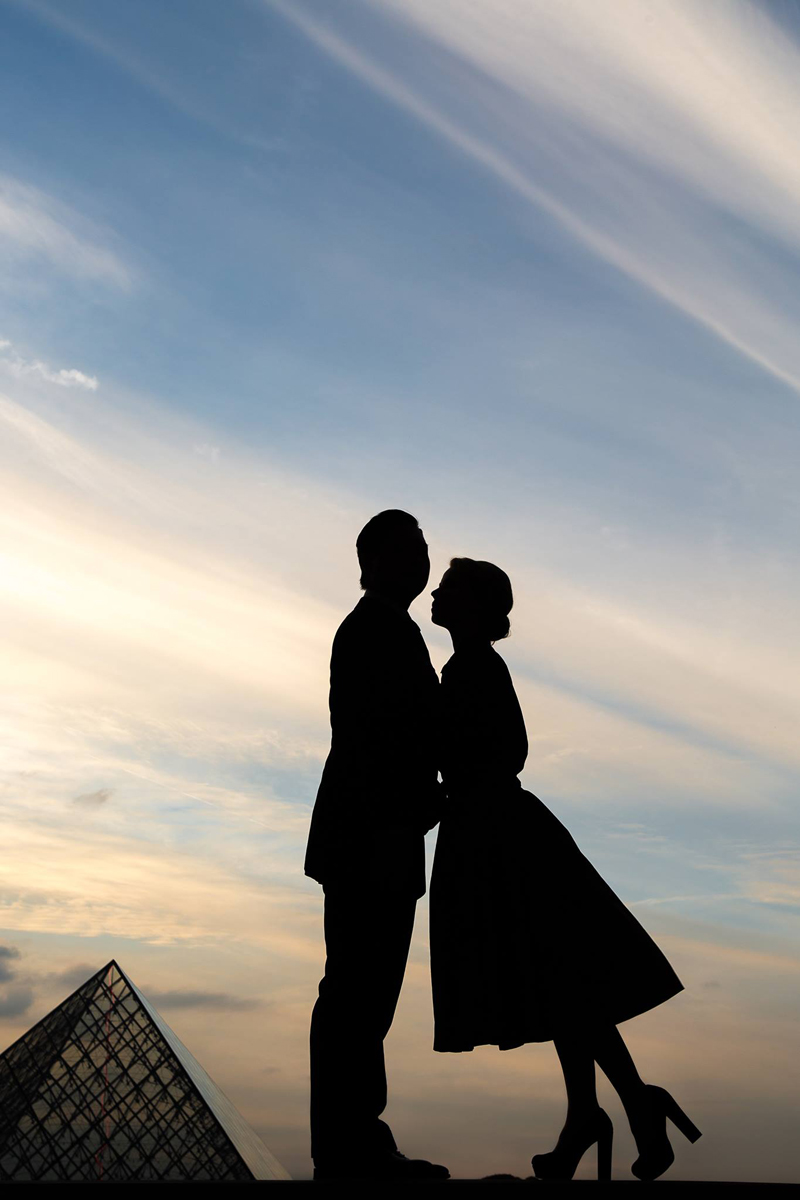 Anna & Jimmy Wedding Photoshoot in Paris