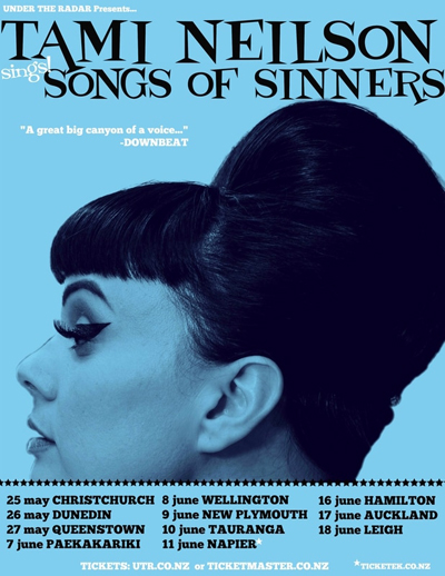 Tami Neilson - The Songs Of Sinners Tour Poster