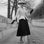 New Look Suit by Dior on the streets of Paris - 1947