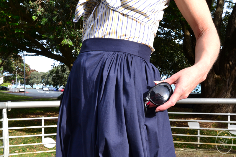 The Sherry Skirt, with side-pockets | Devel Women