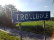 Trollböle-sign
