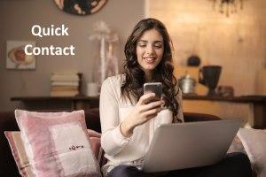 Quick Contact Website Design Company in Surat