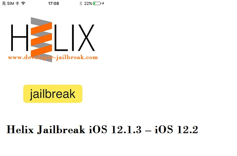 Helix Jailbreak For iOS 13 – iOS 12 4 Beta Fixed JavaScript