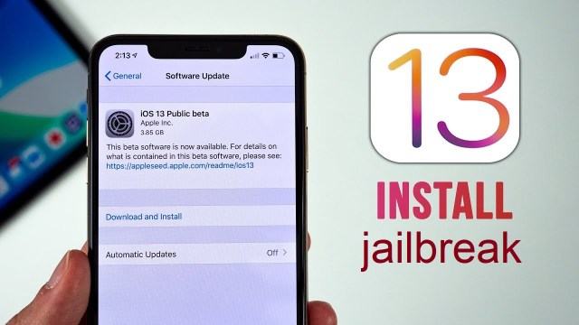 behind jailbreak iOS 13