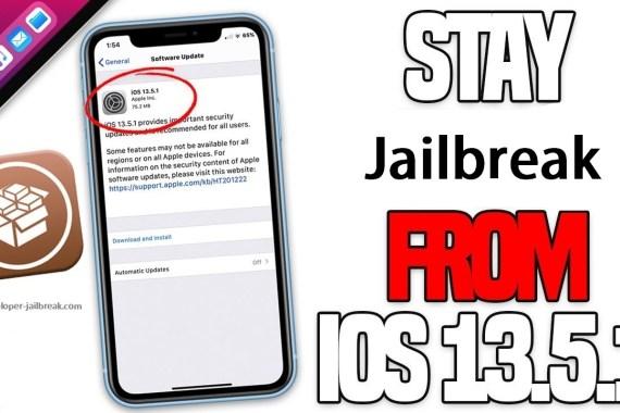 iOS 13.5.1 jailbreak