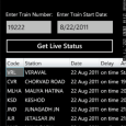 Indian Rail Guide App for Windows Phone