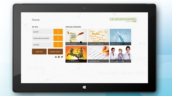 Flashcards Pro for Windows Phone and Windows 8