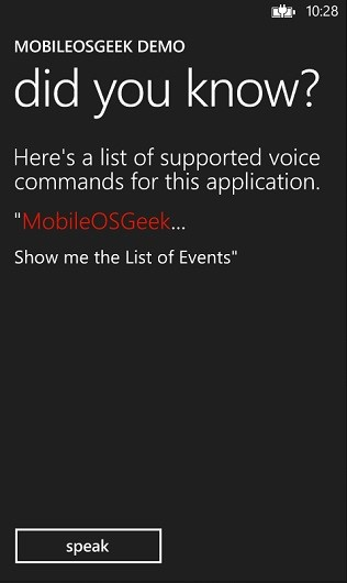 How to verify if the Voice Command Definition is correctly installed in Windows Phone 8?