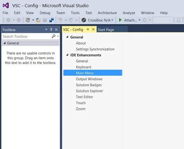 Visual Studio 2013 Tips & Tricks - Disable All Caps in Menu title
