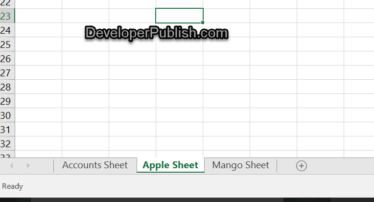 Quickly sort or arrange sheets / worksheets alphabetically in Excel