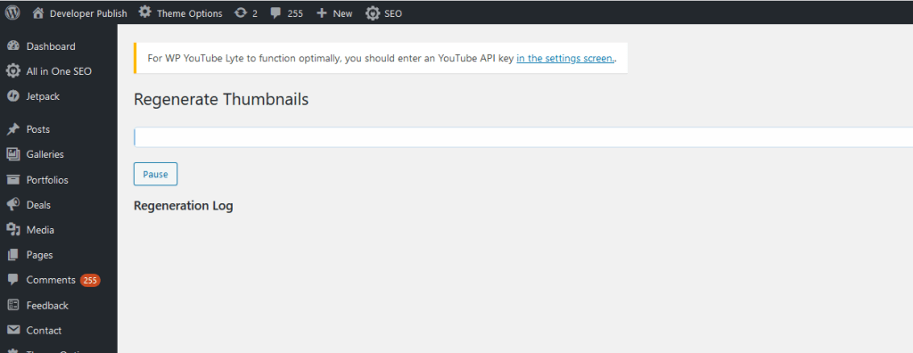How to Regenerate Thumbnails in WordPress ?