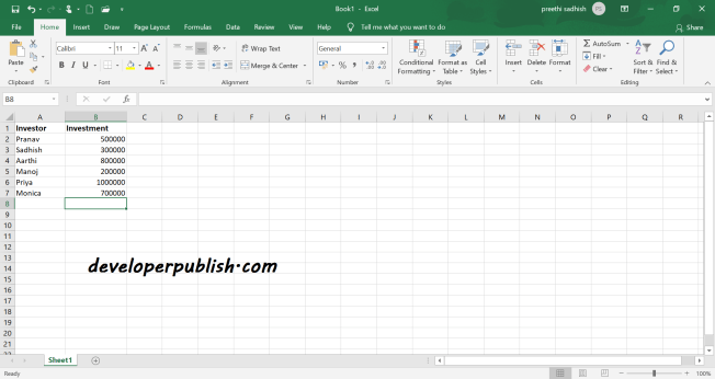 Mark as Final in Microsoft Excel