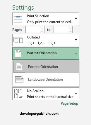 Print in Microsoft Excel