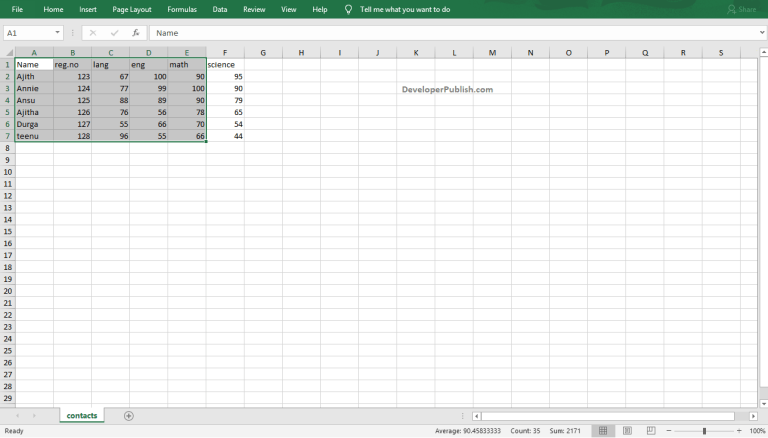How to Create Pie Chart in Excel?