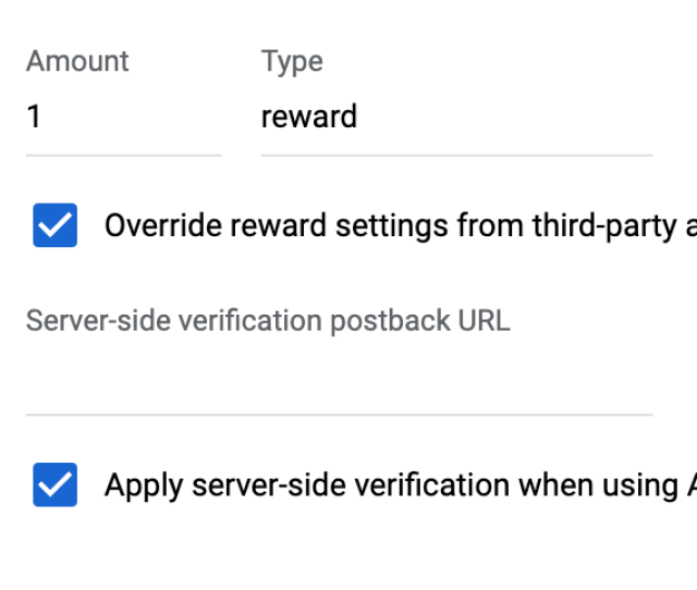If You Dont Apply This Setting The Chartboost Adapter Passes Back The Reward Specified In The Chartboost Ui
