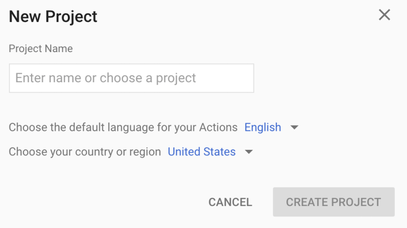 Add/import project