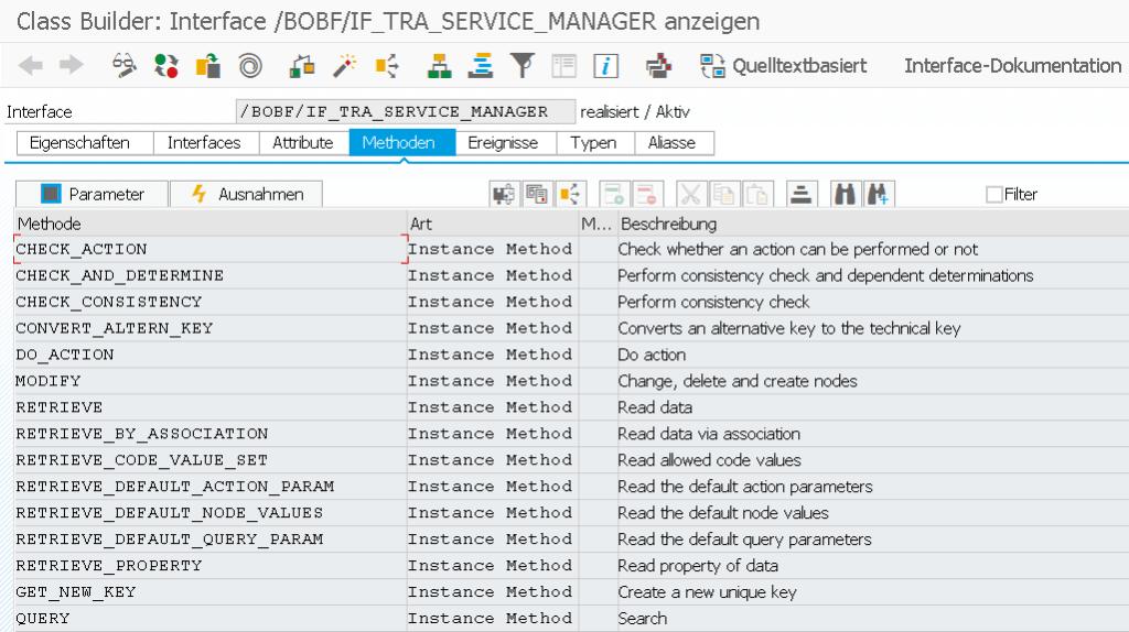 BOPF API Service Manager