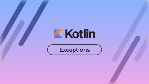 Featured image for article exceptions in kotlin