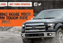 Ford Company Behind The Ride Sweepstakes