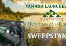 Yamaha - National Hunting & Fishing Day Sweepstakes
