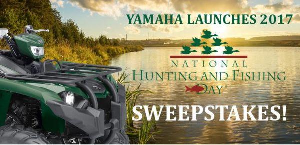 Yamaha - National Hunting & Fishing Day Sweepstakes