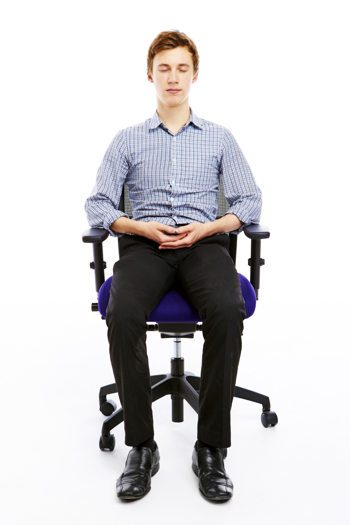 how to meditate in office. Meditation On Chair - Credit: Fusspotts.com How To Meditate In Office