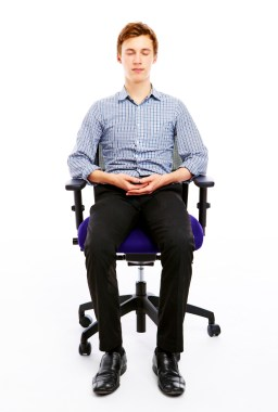 Meditation on Chair - developingmoneyideas.com