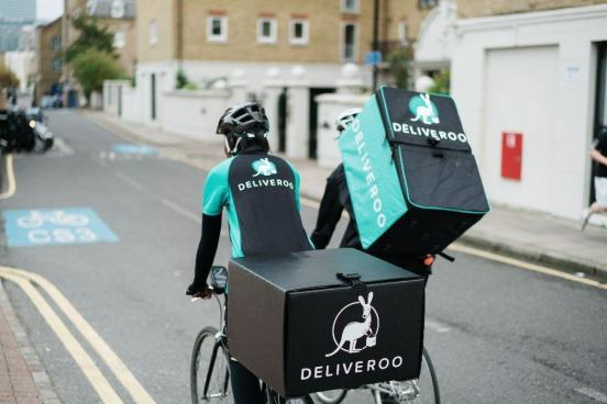 1st Day at Deliveroo - Earn While Cycling and Listening to Audio Book - developingmoneyideas.com